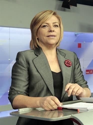 vicesecretaria general del PSOE, Elena Valenciano