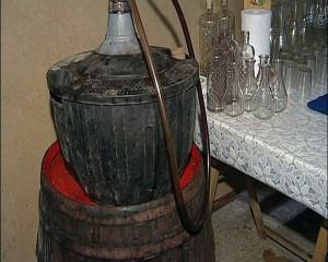 El garrafón, otro de los elementos indispensables del guachinche. / DA