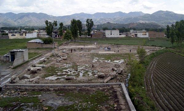 Imagen del terreno donde estaba la casa en la que murió Osama Bin Laden durante el ataque de un comando estadounidense en Abbottabad, Pakistán.| EFE