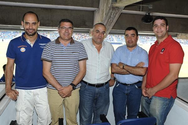 Palco DIARIO DE AVISOS CD Tenerife - RSD Alcalá