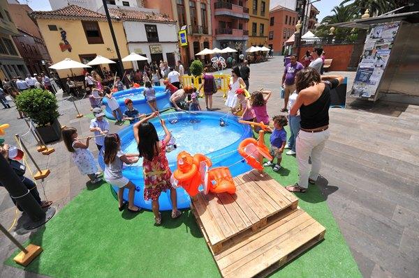 Una de las actividades en el III Día de la familia en La Laguna en 2013 | FRAN PALLERO
