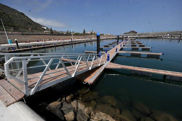 Puerto de Garachico. | FRAN PALLERO
