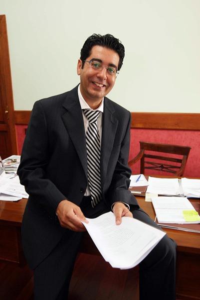 Pedro Martín alcalde de Guía de Isora