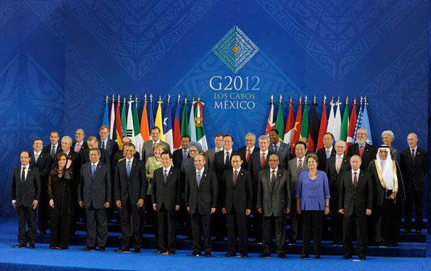 CUMBRE G20-FOTO OFICIAL