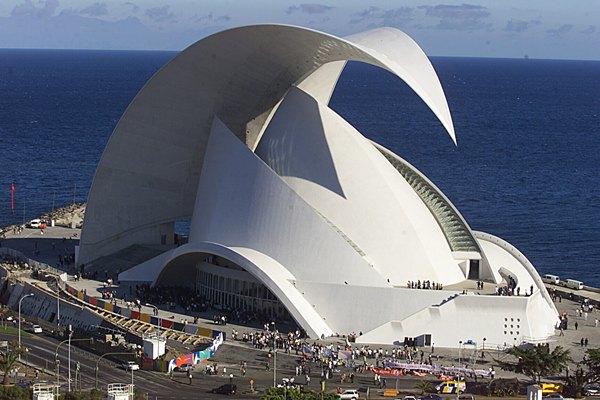 El Auditorio de Tenerife, una de las principales ofertas de Santa Cruz para el turismo de congresos. | DA