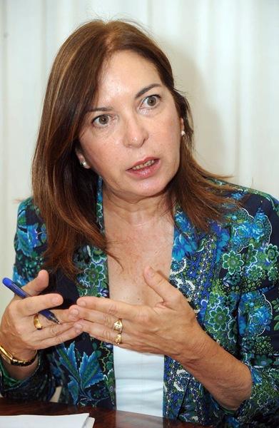 Brígida Mendoza, consejera de Sanidad SM