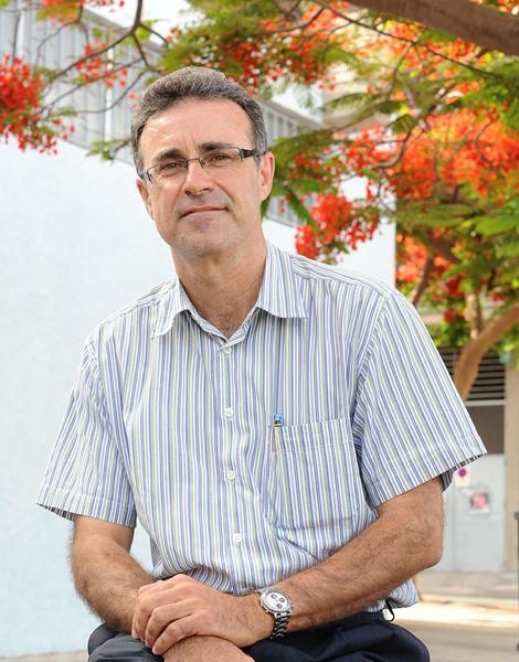 Martín Luna Fernández, presidente del Atlético Tacoronte. | SERGIO MÉNDEZ