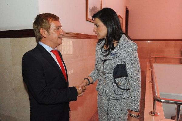Nombramiento de la nueva alcaldesa de Sta. Ursula Milagros Perez, junio del 2011