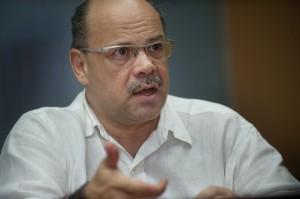 José Miguel Barragán durante una entrevista. | FRAN PALLERO