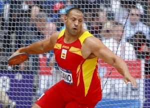Mario Pestano durante los Juegos Olímpicos de Londres 2012. | DA