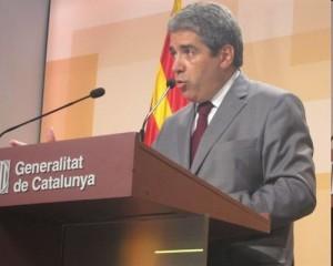 portavoz del Govern de Catalunia Francesc Homs