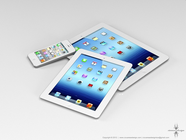 posibles iphone 5 y ipad mini
