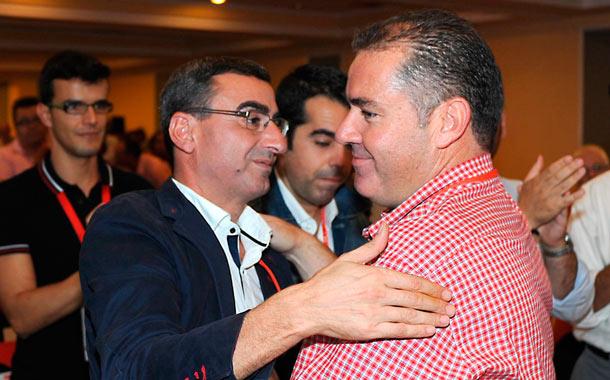 Javier Abreu y Manuel Fumero