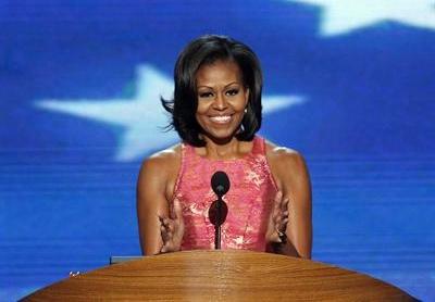 La primera dama de Estados Unidos Michelle Obama