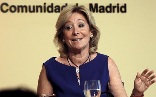 Esperanza Aguirre, presidenta del PP de Madrid. | DA