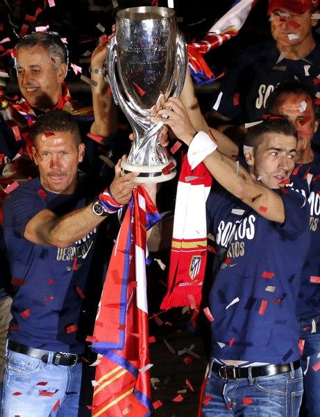 Celebración del Atlético de Madrid en Neptuno