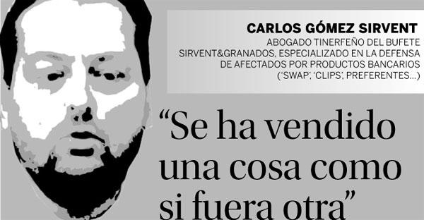 Preferentes: Carlos Gómez Sirvent - Declaraciones