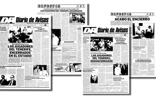 CD TENERIFE-ENCIERRO 1984