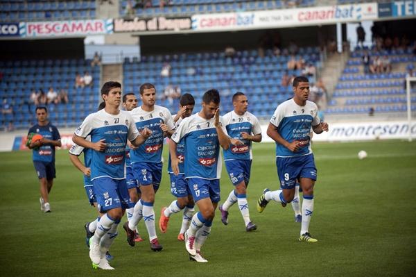 Jugadores CD Tenerife entrenamiento estado fp