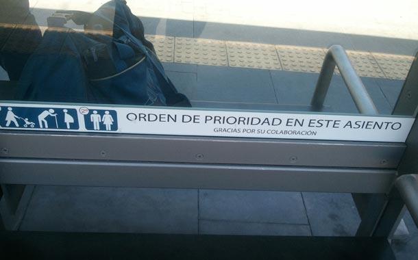 CHURCHILL - ASIENTO PRIORIDAD
