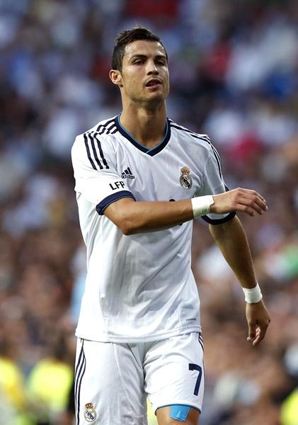 El delantero portugués del Real Madrid Cristiano Ronaldo