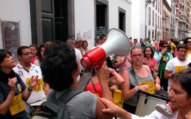 ESO FUENCALIENTE PROTESTAS