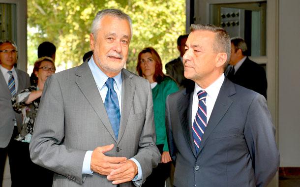JOSÉ ANTONIO GRIÑÁN Y PAULINO RIVERO