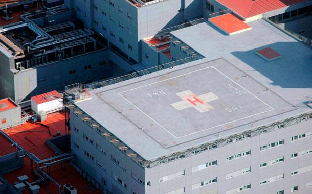 HELIPUERTO HOSPITAL LA CANDELARIA
