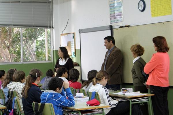 VISITA CEIP PRINCIPE FELIPE JOSE GUMERSINDO GARCIA