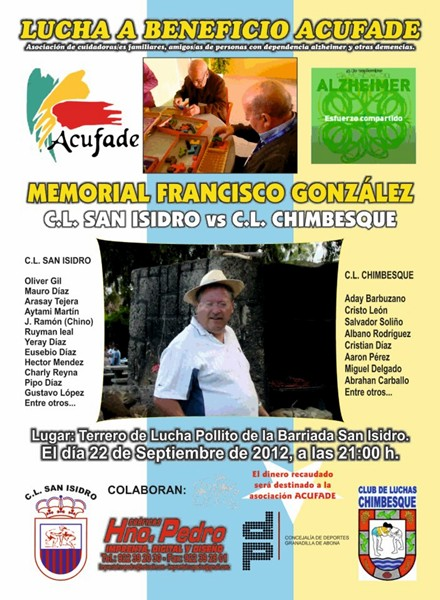 Memorial Francisco Gonzalez San Isidro-Chimbesque