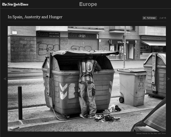 imagen de la pobreza en españa según the new york times