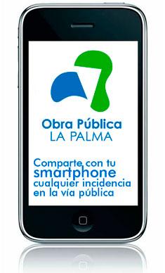 APP MÓVIL OBRA PUBLICA LA PALMA