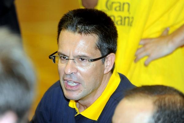 Pedro Martínez entrenador del Gran Canaria