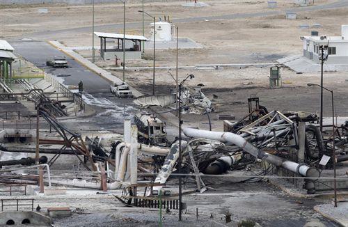 planta de gas de Petroleos Mexicanos (Pemex)