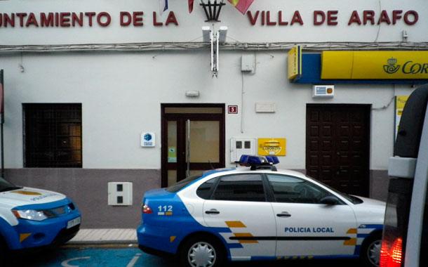 POLICIA ARAFO