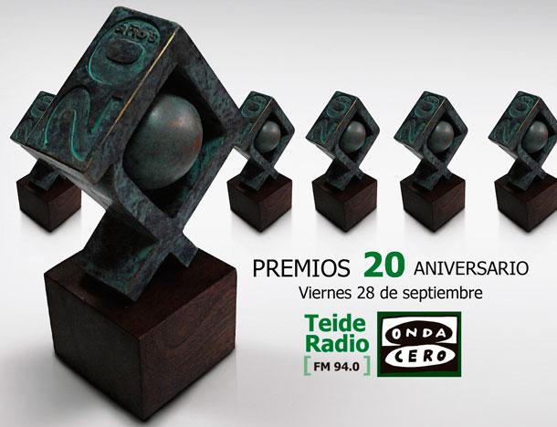 PREMIOS TEIDE RADIO - 20 ANIVERSARIO