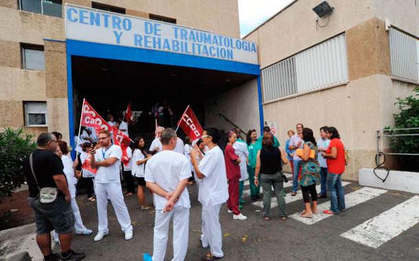 PROTESTA SANITARIOS CANARIAS