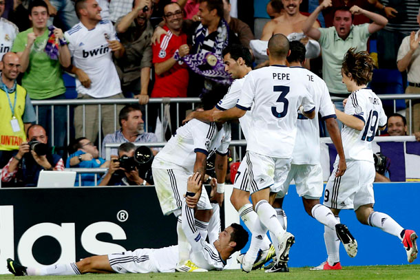 CHAMPIONS - REAL MADRID - MACHESTER CITY