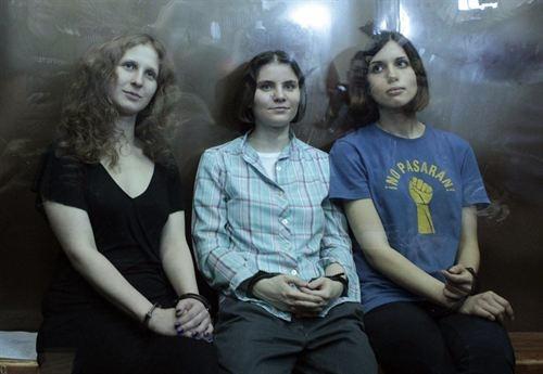 rusia grupo musical punk Pussy Riot