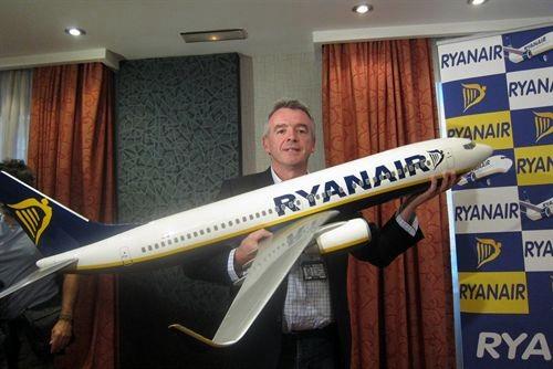 El presidente de Ryanair Michael O'Leary