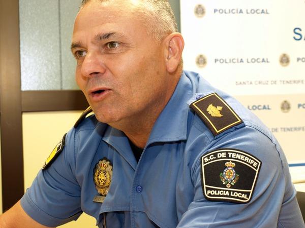 Blas Hernández Policía Local Santa Cruz
