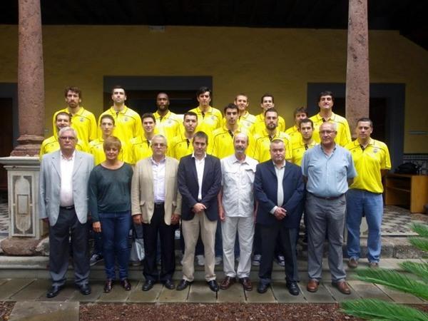 Visita del CB Canarias al Ayuntamiento de La Laguna