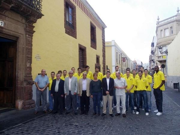 Visita CB Canarias al Ayuntamiento de La Laguna