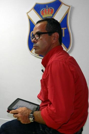 Álvaro Cervera entrenador del CD Tenerife