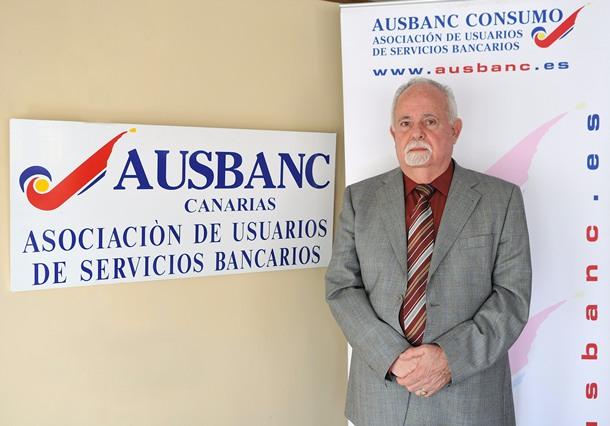 EL DELEGADO DE AUSBANC CANARIAS JERÓNIMO BARRERA