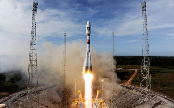 Lanzamiento cohete Soyuz - Sistema Galileo