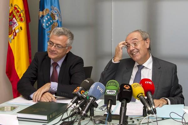El fiscal superior de Canarias, Vicente Garrido