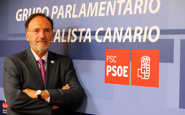 Francisco Manuel Fajardo, portavoz del PSOE