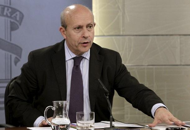 Jose Ignacio Wert, ministro educación