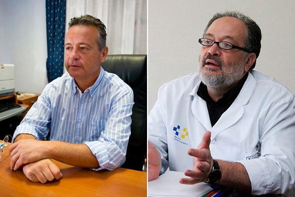 LUIS VIÑA Y JOSÉ IZQUIERDO
